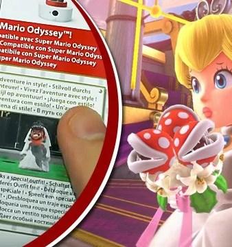 Mario usará vestido de noiva em Super Mario Odyssey