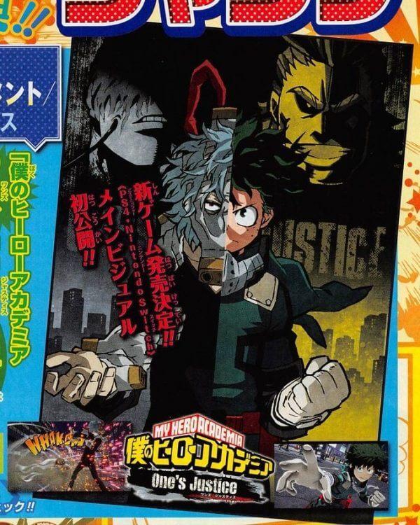 Game baseado no anime My Hero Academia é anunciado pela Bandai
