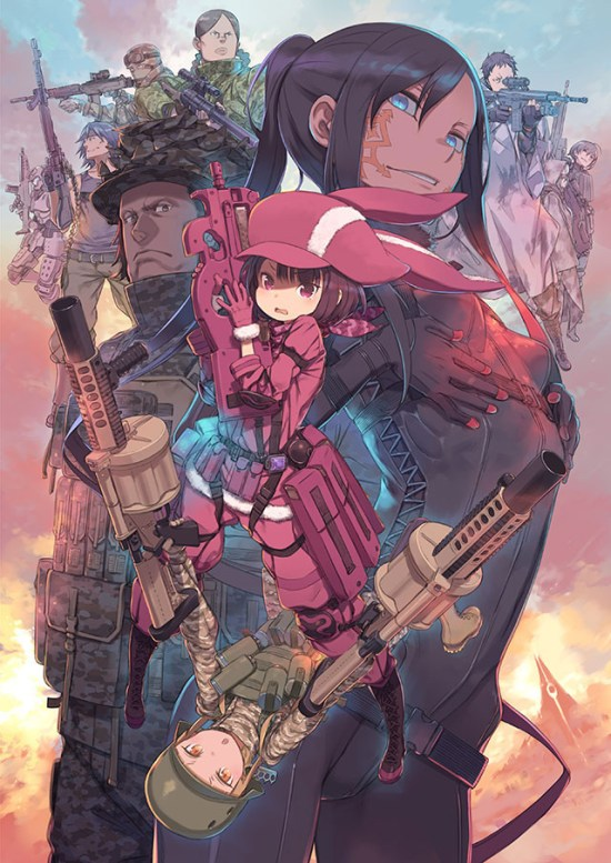Anime spin-off Sword Art Online Alternative Gun Gale Online estreia em abril