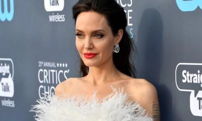 Angelina Jolie volta a dar as caras no Critics' Choice Movie Awards 2018
