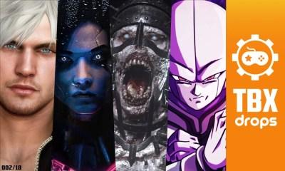 TBX Drops | As notícias mais importantes da semana sobre o mundo dos games
