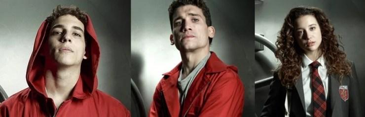 Élite | Elenco de La Casa de Papel estrelam nova série da Netflix