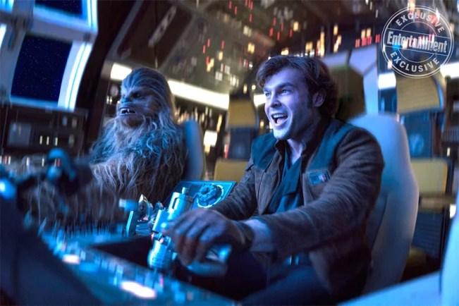 Confira as primeiras fotos do filme Han Solo: Uma História Star Wars