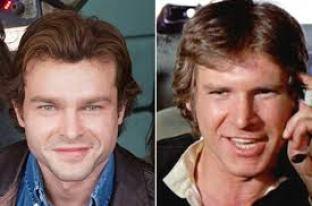 Alden Ehrenreich teve ajuda de Harrison Ford para interpretar Han Solo
