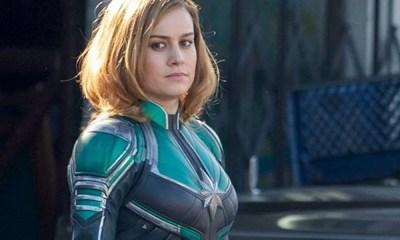 Capitã Marvel | Filme ganha fotos de Brie Larson e Jude Law nos bastidores
