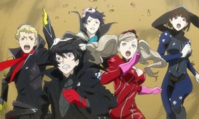 Persona 5 The Animation | Novo trailer é liberado. Confira