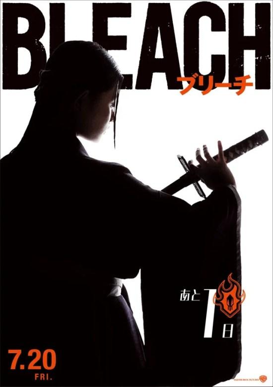 Bleach   Filme live-action ganha novo trailer revelando personagens
