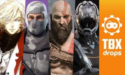 TBX Drops | As notícias mais importantes da semana sobre games