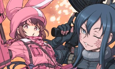 Sword Art Online Alternative Gun Gale Online ganha trailer internacional
