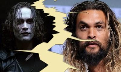 Bomba! | Jason Momoa não protagonizará mais o reboot de 'O Corvo'