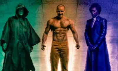 Glass | Poster oficial é revelado e traz os 3 protagonistas