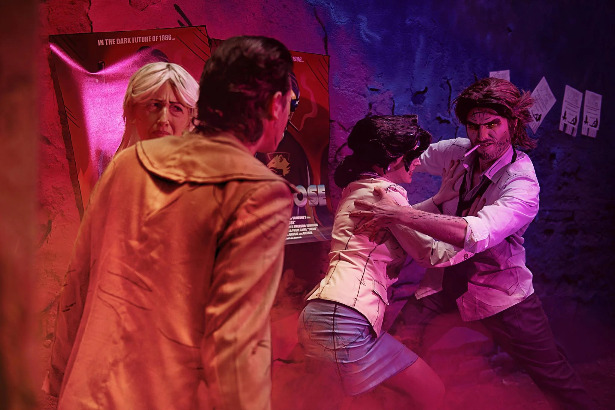 Dupla surpreende com cosplays incríveis de The Wolf Among Us