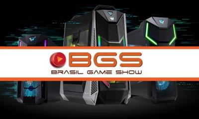 BGS 2018 | Acer dá R$ 1 mil em jogos para compras no mês do evento