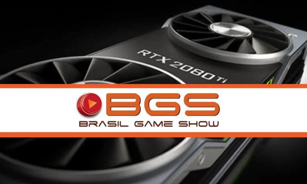 BGS 2018 | Geforce RTX 2080 é destaque no estande da Nvidia