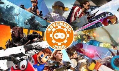 Games | Os lançamentos mais aguardados de novembro 2018