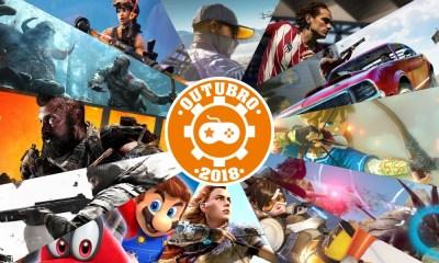 Games | Os lançamentos mais aguardados de outubro 2018