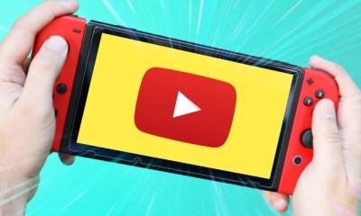 Nintendo Switch deve receber aplicativo do YouTube em breve