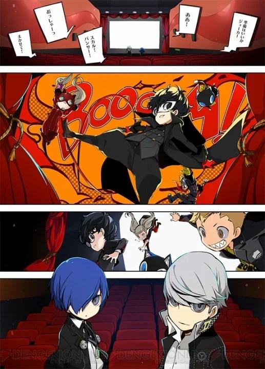Persona Q2: New Cinema Labyrinth | Jogo ganha versão em mangá