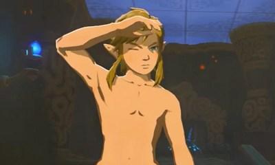 The Legend of Zelda | Link aparece pelado em artbook oficial