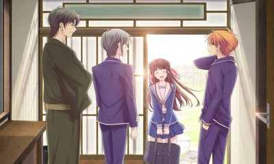 Novo visual de Fruits Basket aparece na Times Square em Nova York