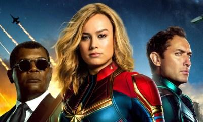 Capitã Marvel | Novo poster reúne os principais personagens da trama