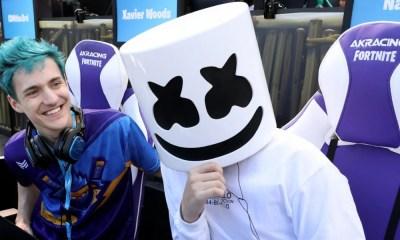Inédito! DJ Marshmello fará uma apresentação musical em Fortnite