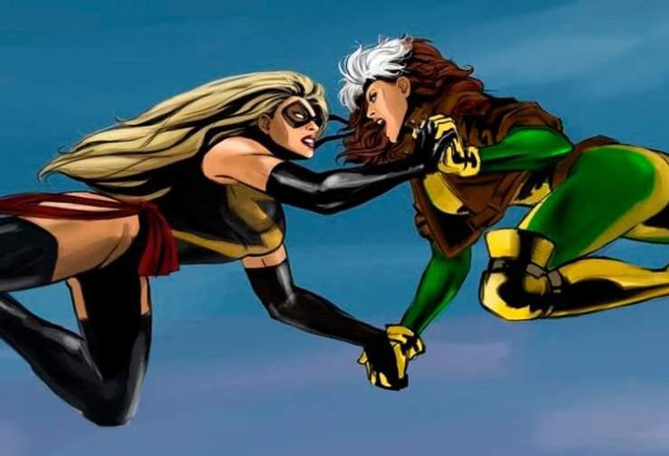 Reboot de X-Men pode impulsionar a aparição de Vampira em 'Capitã ...