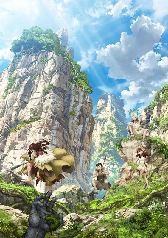 Dr. Stone | Anime ganha data de estreia e uma nova imagem promocional