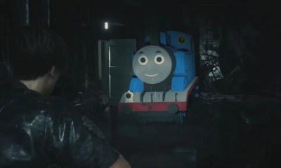 Resident Evil 2   Thomas o trenzinho aparece como vilão em novo mod