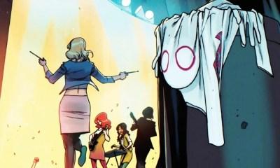 Capa de Spider-Gwen recria passagem clássica de Spider-Man