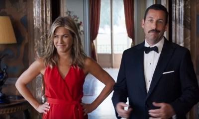 Mistério no Mediterrâneo | Adam Sandler e Jennifer Aniston estão juntos novamente em nova comédia da Netflix