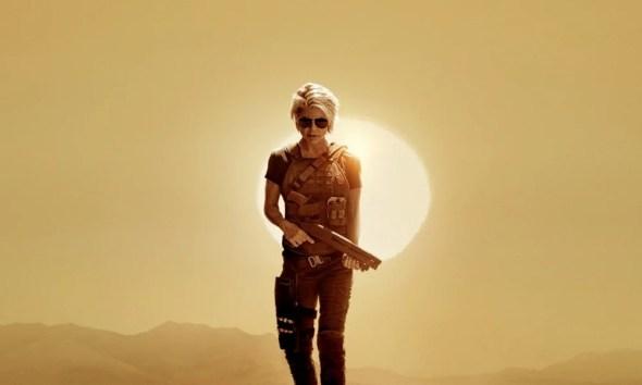 Exterminador do Futuro: Destino Sombrio Sarah Connor aparece em novo pôster. Trailer pode sair amanhã