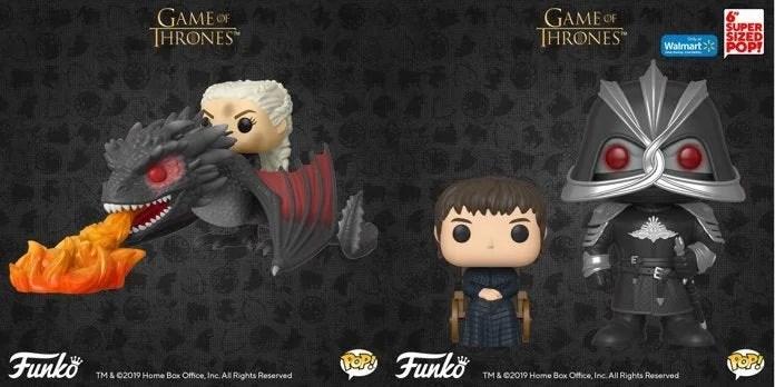 Game of Thrones: Funko lança novos POP! baseados na 8ª temporada