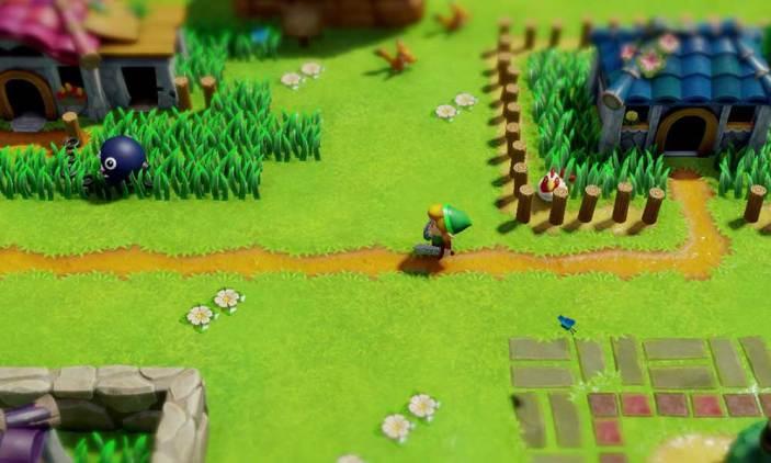 The Legend of Zelda - Link's Awakening pode aparecer na feira