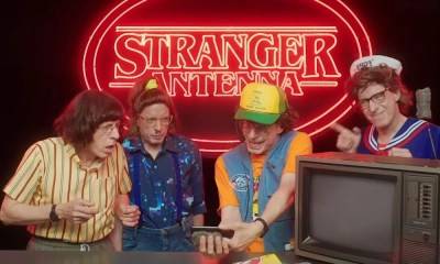 Stranger Antenna | App de Stranger Things simula TV dos anos 80