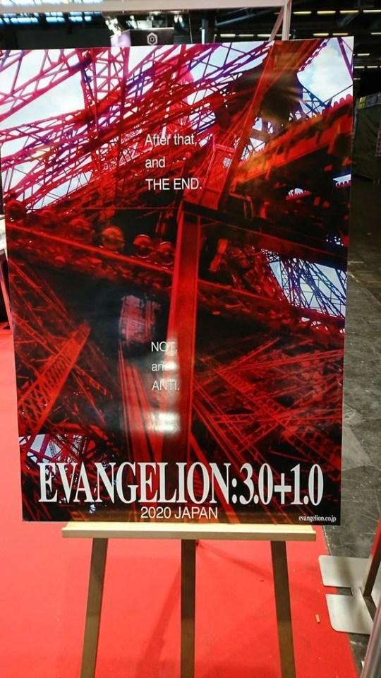 Rebuild of Evangelion   Surgem novas imagens promocionais do 4º filme