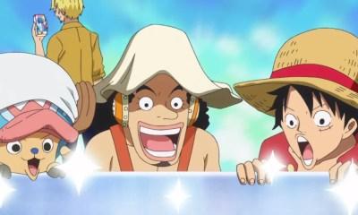 Personagens de One Piece estrelam comercial de produtos de limpeza