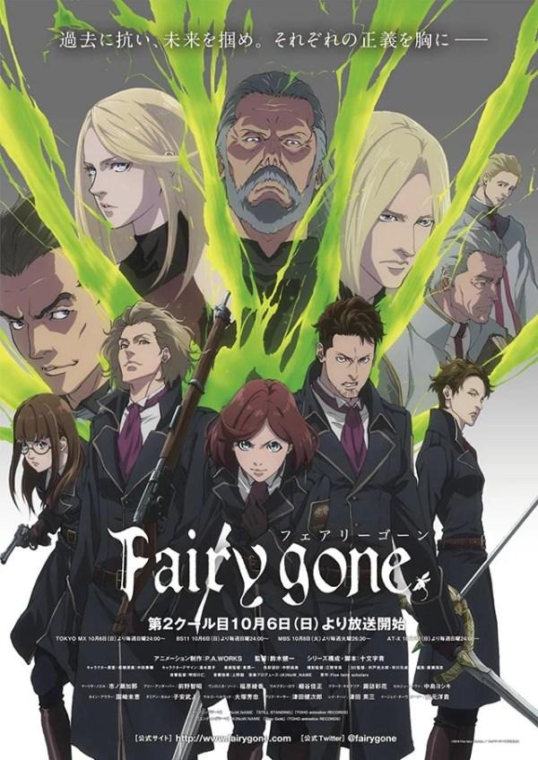 Fairy Gone   2ª parte ganha trailer e novo poster promocional