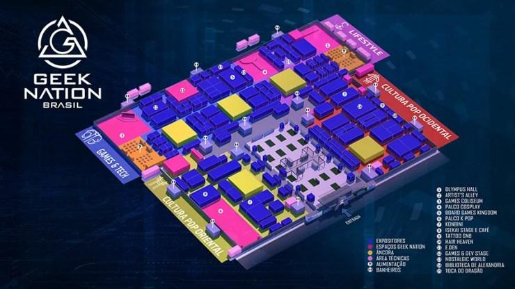 GEEK NATION BRASIL | Super evento geek acontecerá em maio de 2020