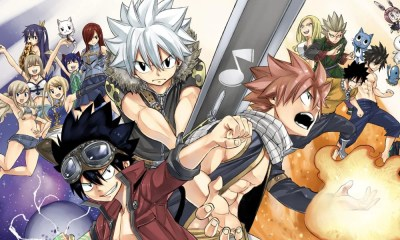 HEROS | Mangá fará crossover entre Fairy Tail, Rave Master e Edens Zero