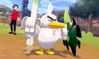 Revelado o novo pokémon Sirfetch'd, evolução do Farfetch'd