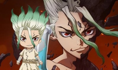 Dr. Stone | Goodsmile lançará Nendoroid do personagem Senku