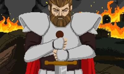 Aldred - Knight of Honor   Game brasileiro ganha versão para Nintendo Switch