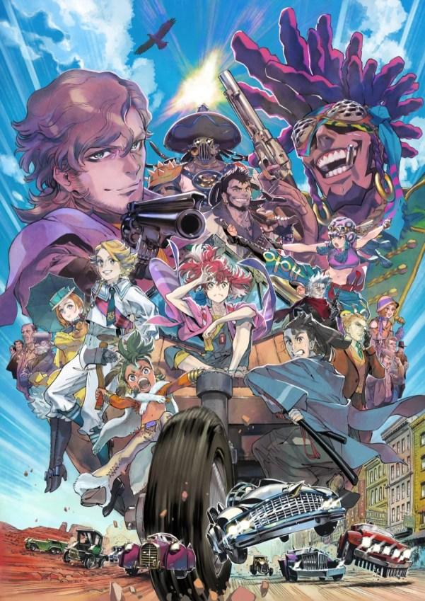 Appare-Ranman!   Anime original da Kadokawa e P.A. Works ganha trailer