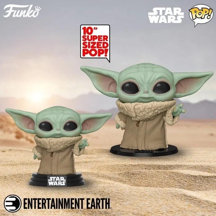 Primeiros colecionáveis do fenômeno Baby Yoda são divulgados