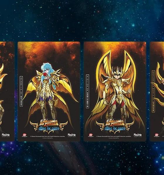 Cavaleiros do Zodíaco: Alma de Ouro | PlayArte libera venda avulsa dos cards colecionáveis