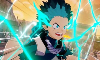 My Hero One's Justice 2   Trailer confirma Deku com One For All 100%
