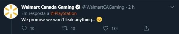 PlayStation 5 | Walmart Canada promete não vazar nada antes do dia 11 de junho
