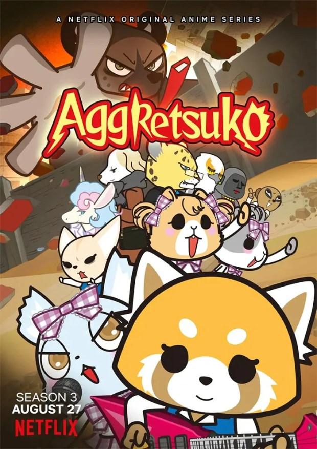 Aggretsuko | 3ª temporada ganha poster e data de estreia