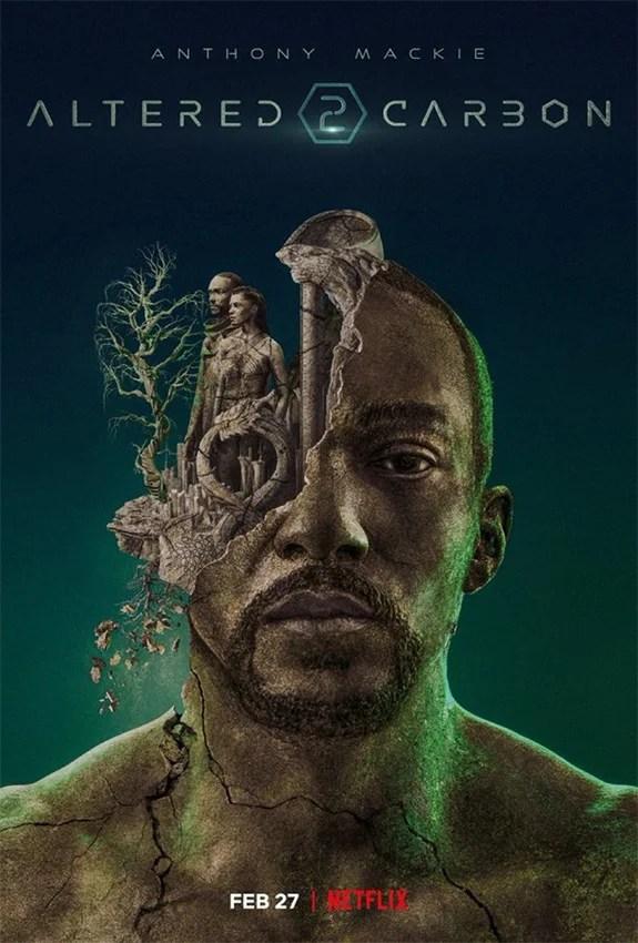 Poster da segunda temporada de Altered Carbon